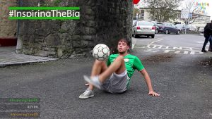 Freestyle skills with Conor